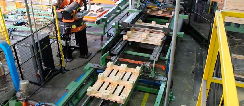 Embalajes de fusta